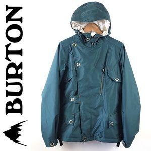 ❤️ Burton dry ride snowboarding ski green jacket M